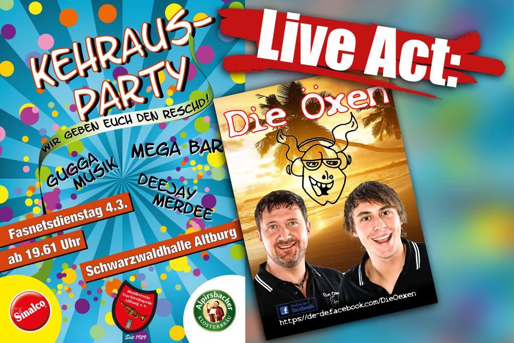 Kehraus Party 2014 Altburg