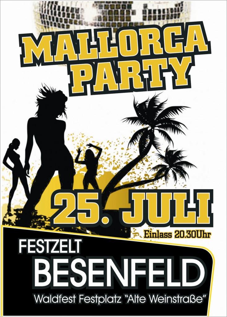 Besenfeld Mallorca Party DjMerdee Dj Jogi