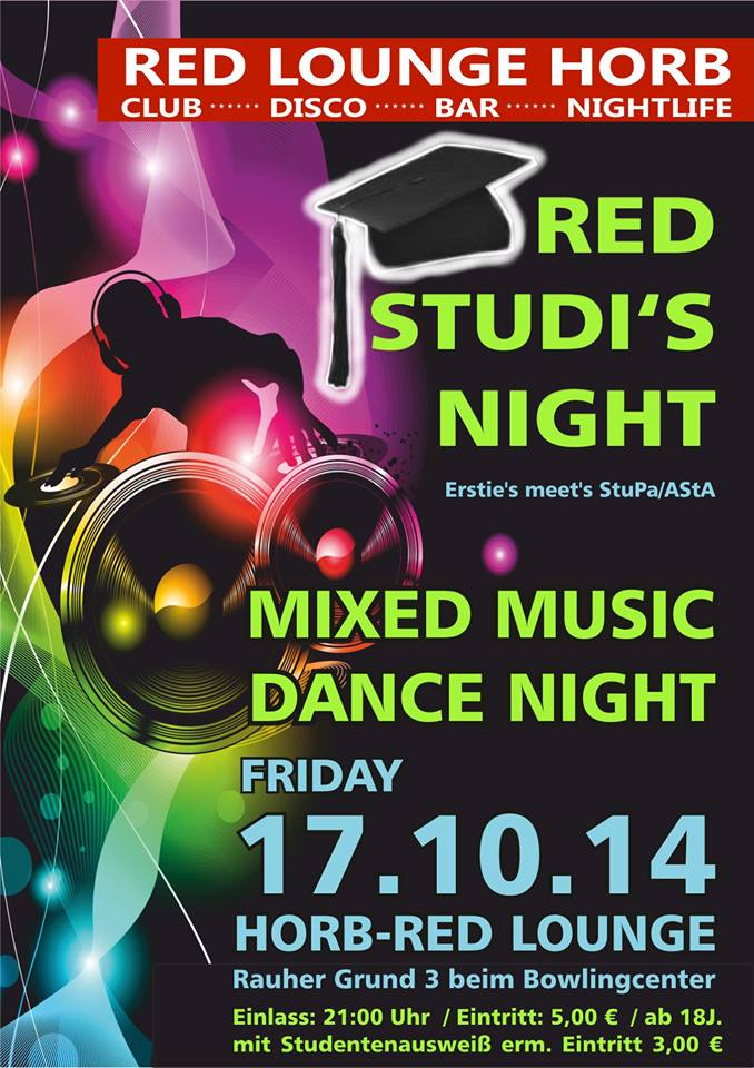 Red Studi Night